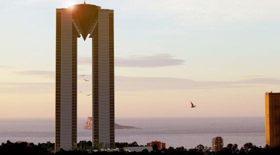 El 'banco malo' se queda el crédito de la torre más alta de Benidorm
