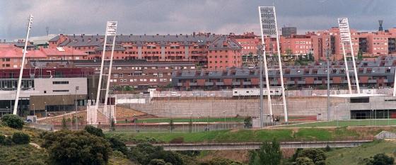 La Ciudad Deportiva de la Federación Española de Fútbol.