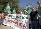 El SAT exige las tierras expropiadas en la Segunda República