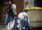 La huelga del servicio de basuras de A Coruña se extiende a la recogida