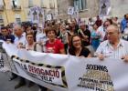 Intersindical protesta para pedir la derogación del 'decreto Vela'