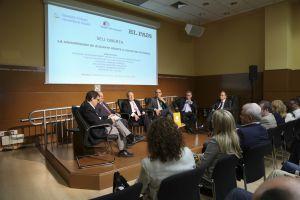 Debate con los rectores de Alicante.