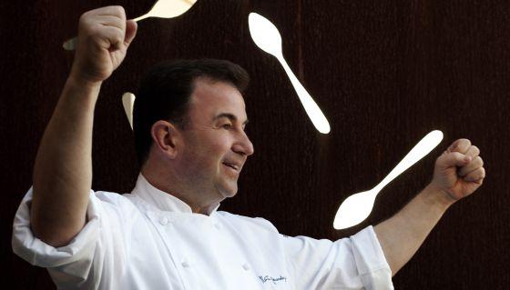 El chef Martín Berasategui.