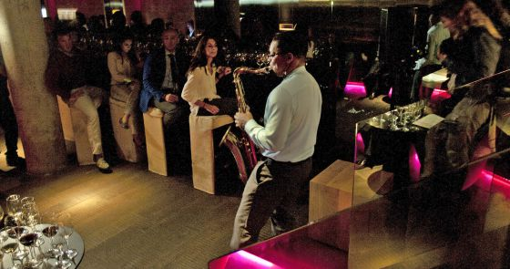Ravi Coltrane durante la Monvínic Experience.
