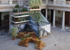 Viveros verticales para solares abandonados
