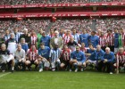 El Athletic remonta y le gana a la Real en el derbi de veteranos