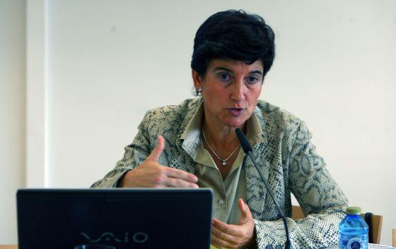 Sara de la Rica, en la presentación del Informe Laboral de Euskadi.