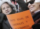 El TSJM anula el aumento de jornada de trabajadores regionales