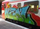 59 detenidos por pintar grafitis en trenes en los últimos dos años