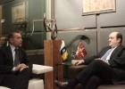 Ortuzar y Rivero abordan las elecciones europeas y la economía