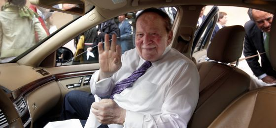 Sheldon Adelson during a visit to Madrid in 2012.