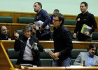 """EH Bildu abandona el pleno de control por el """"veto"""" a sus iniciativas"""