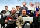 La BBK entrega los premios a los mejores productores de la feria