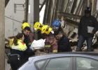 Un muerto al ceder el techo de una nave en Massanes