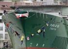 Tres botaduras en Euskadi en plena crisis de La Naval