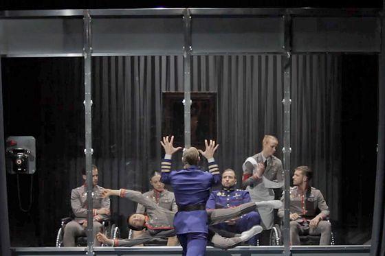 Una imagen del espectáculo de la Compañía nacional de danza Nippon-Kokku.
