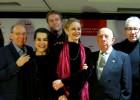 Sacristán, Vicky Peña y Gutiérrez Caba recogen los Premios Ercilla