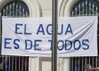 Encierro indefinido contra la venta de la empresa de aguas de El Puerto