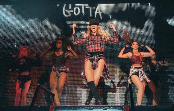 Beyoncé, el 'glamour' dinámico