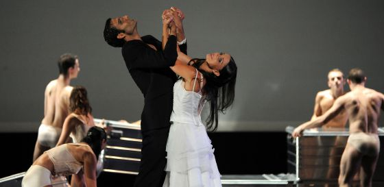 El Ballet de Biarritz Baila 'Romeo y Julieta'.