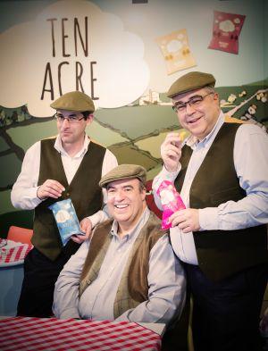 Jimmy Attias, Tony Goodman y Ronen Derber, de la empresa Ten Acre.