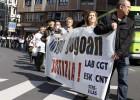 """Sindicatos vascos reclaman """"justicia"""" por la muerte de Cabacas"""