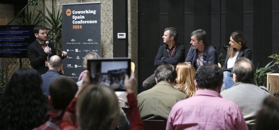 Un momento de la Coworking Spain Conference.
