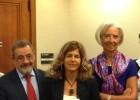 González defiende en Washington el tratado comercial con la UE