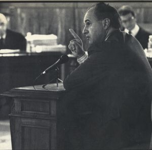 Rafael Blasco, cuando fue juzgado en 1991 por corrupción urbanística.