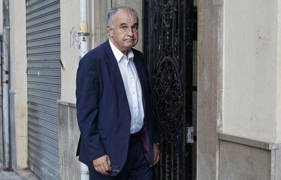 El exconsejero Rafael Blasco horas después de conocer la condena impuesta por el TSJ valenciano.
