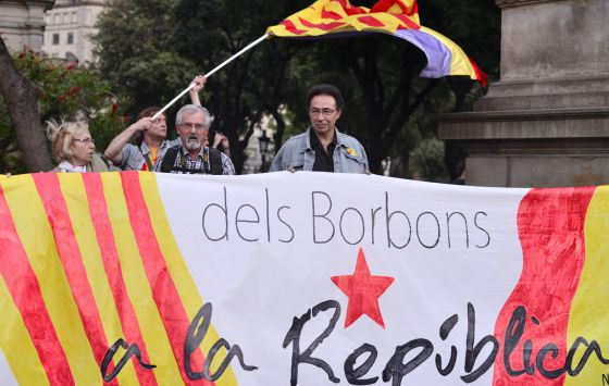 """""""¡A por la República catalana!"""""""