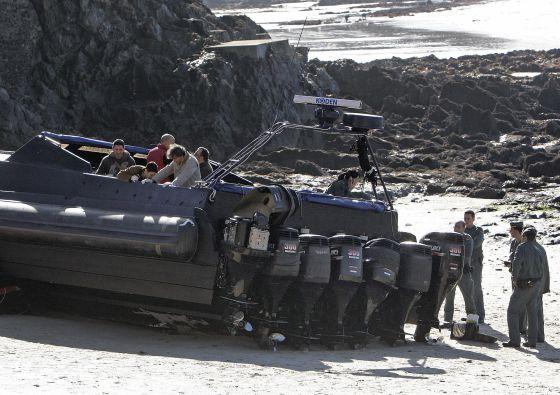Mayor planeadora incautada en Europa, hallada en una playa de Nigrán en el año 2009.