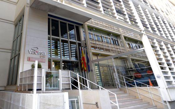 Sede de la empresa pública Vaersa, en valencia.
