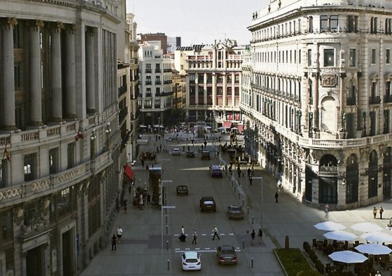 Proyección municipal de cómo quedará el área de Canalejas.