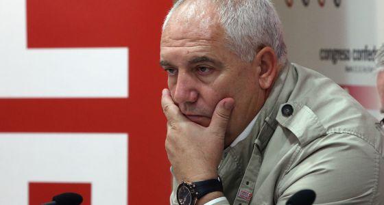 El secretario general de CC OO, Francisco Carbonero.