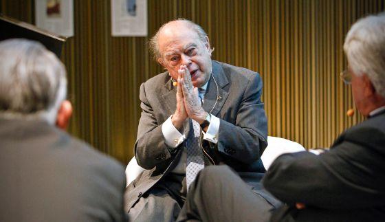 Jordi Pujol, en el Museo de Arte Contemporáneo en una imagen de 2012.