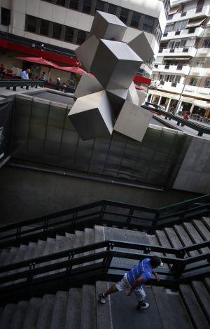 Arte gratis en la ciudad madrid el pa s for Plaza los cubos madrid