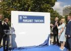 Margaret Thatcher ya tiene su primera plaza fuera del Reino Unido