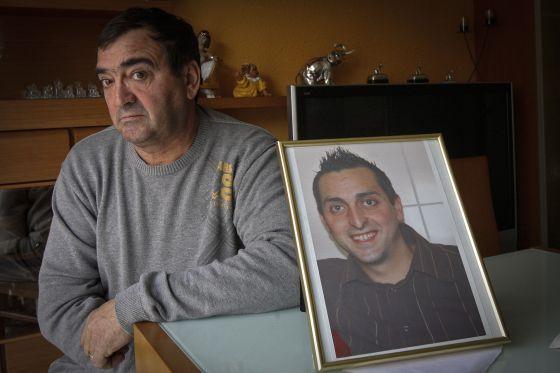 Francisco Carrillo, padre de Jonathan, reclama justicia para su hijo desde hace cinco años.