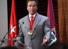 Una medalla para Schwarzenegger