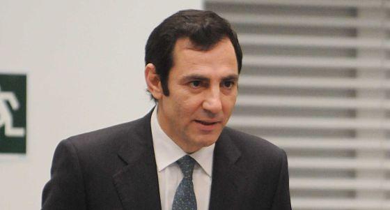 Ángel Donesteve, jurando su cargo en enero de 2013.
