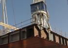 Navantia pone la quilla de un 'flotel' que acumula retrasos