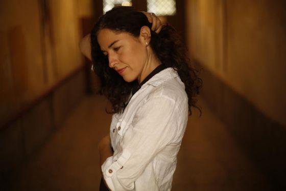 Guadalupe Nettel, en una entrevista en 2013.