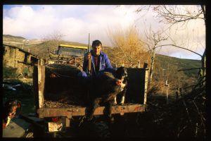 El presunto homicida, Juan Carlos Rodríguez, en una foto realizada por el propio Martin Verfondern.
