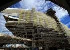 El 'trencadís' del Palau de les Arts cayó por el mal uso del adhesivo