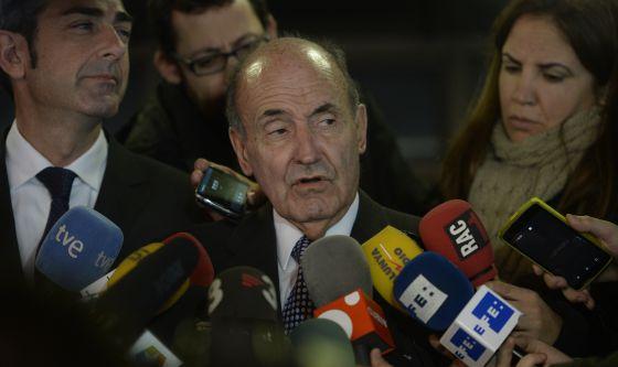El abogado de la Infanta Cristina, Miquel Roca.