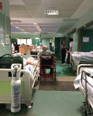 Imagen de las urgencias del hospital 12 de Octubre de Madrid el 12 de enero.