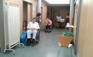 Urgencias del hospital Ramon y Cajal de Madrid el 13 de enero.