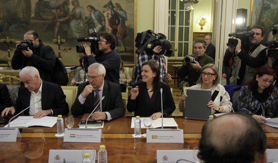 La consejera de Educación, María José Català, en la conferencia de Educación.
