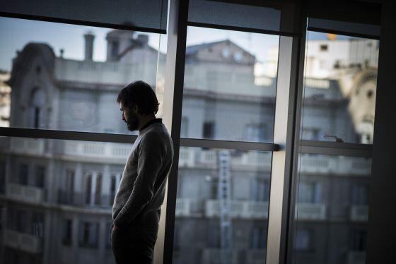 Oleguer Pujol, el viernes en el despacho de sus abogados en Barcelona.